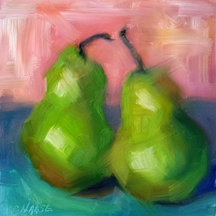 """Conversations"" original fine art by Cindy Haase"