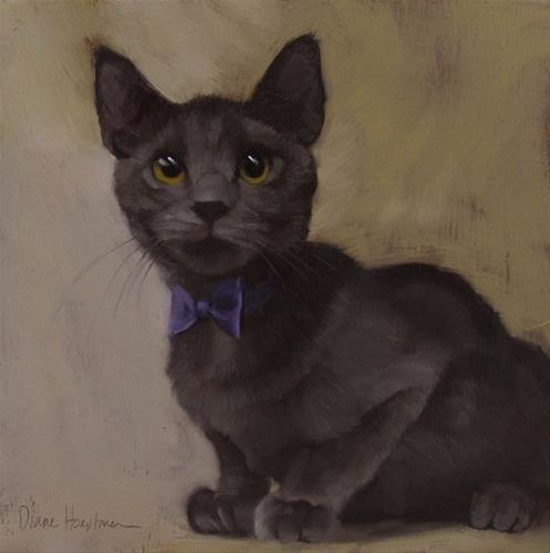 """Bowtie Beauty II"" original fine art by Diane Hoeptner"