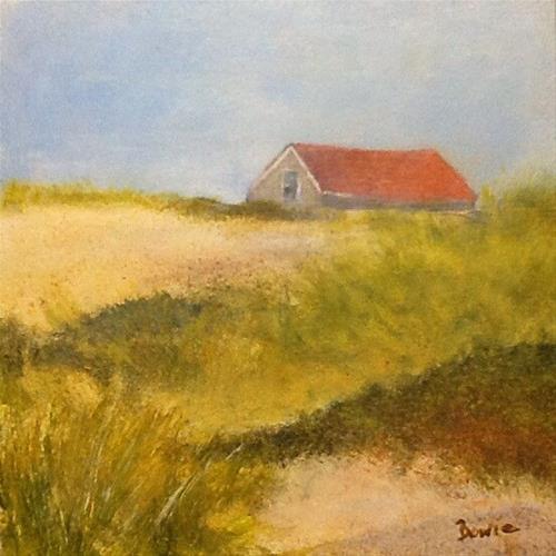 """""""Beach House"""" original fine art by Maureen Bowie"""