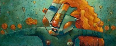 """Secret Life"" original fine art by Brenda York"