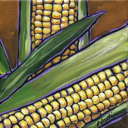 """Corn"" original fine art by Nadi Spencer"
