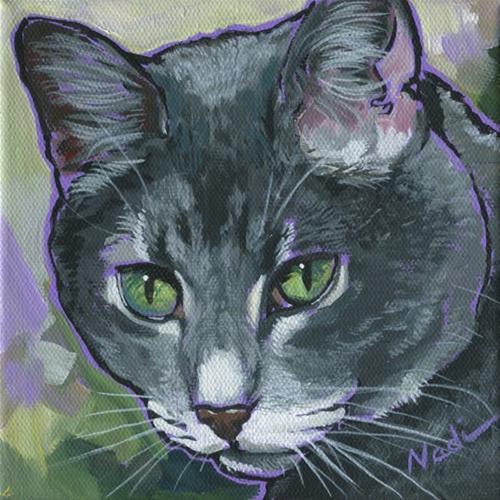 """Phoebe"" original fine art by Nadi Spencer"