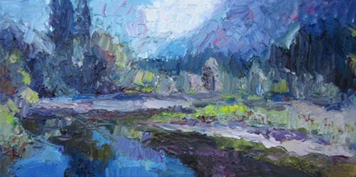 """Yosemite Reflections Redux"" original fine art by Carol Steinberg"