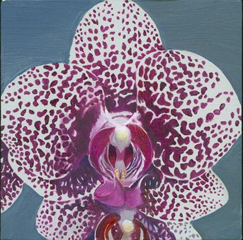 """Regal orchid"" original fine art by Jean Wilkey"