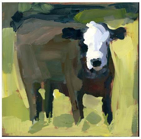 """Moo-Moo #802"" original fine art by Lisa Daria"
