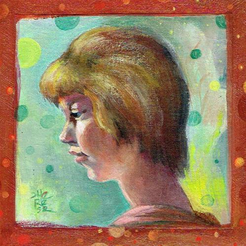 """""""Keep Faith - Theresa Taylor Bayer"""" original fine art by Theresa Taylor Bayer"""