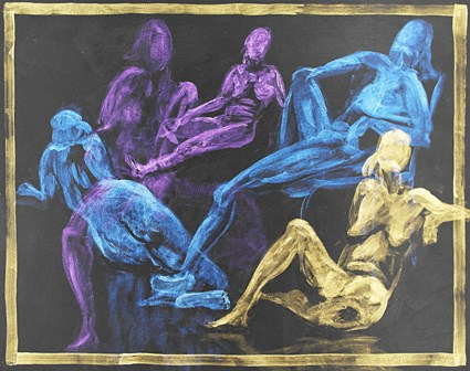 """Figure Montage No 4"" original fine art by Jamie Williams Grossman"