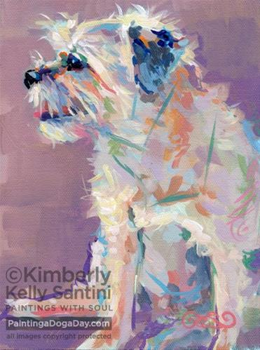 """Imp"" original fine art by Kimberly Santini"