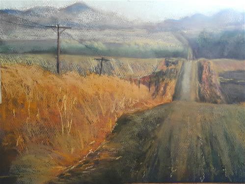 """Fouriesburg"" original fine art by Rentia Coetzee"