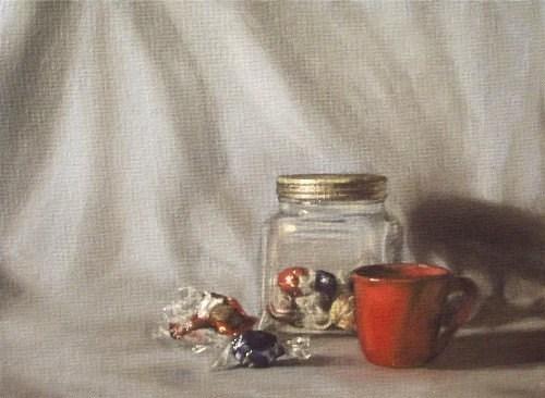"""Little Pleasures"" original fine art by Amy VanGaasbeck"