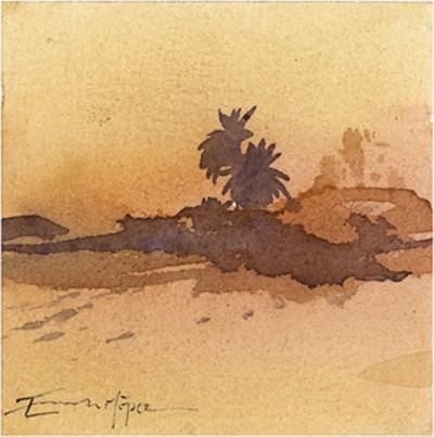 """paisaje 167"" original fine art by Emilio López"