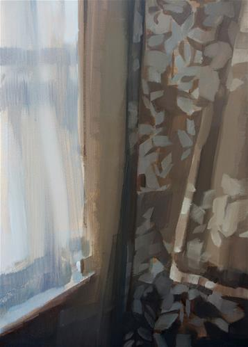 """Sunlight and Curtains"" original fine art by Michael William"