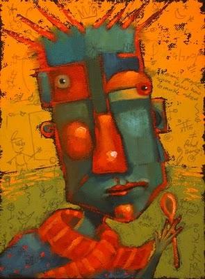"""Stir Crazy"" original fine art by Brenda York"