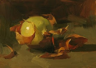 """Onion Study"" original fine art by Qiang Huang"