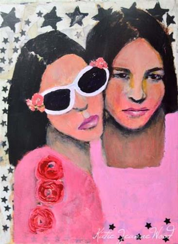 """Loved Her"" original fine art by Katie Jeanne Wood"
