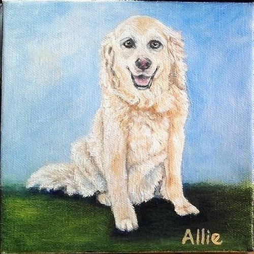 """Allie"" original fine art by Camille Morgan"