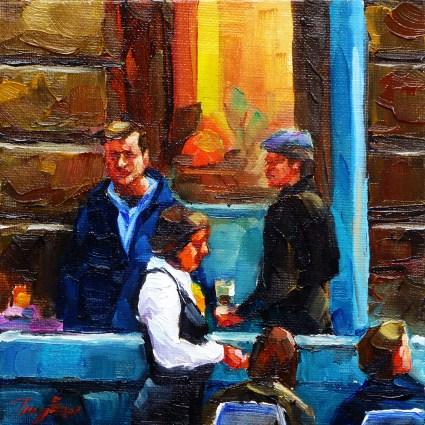 """evening"" original fine art by Jurij Frey"