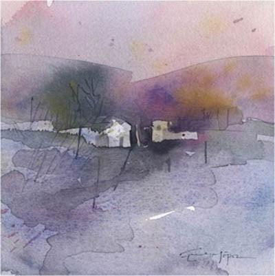"""paisaje 217"" original fine art by Emilio López"