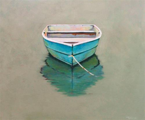 """Perfect Calm"" original fine art by Tricia Granzier"