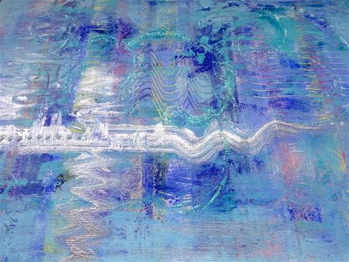 """5096 - Mounted - Journey II"" original fine art by Sea Dean"