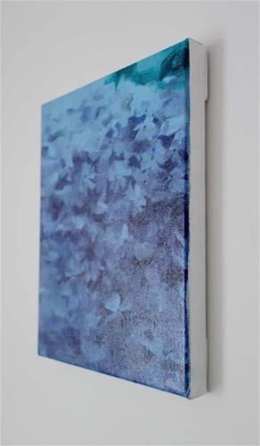 """Emerald Blue Phlox (no.121)"" original fine art by Michael William"
