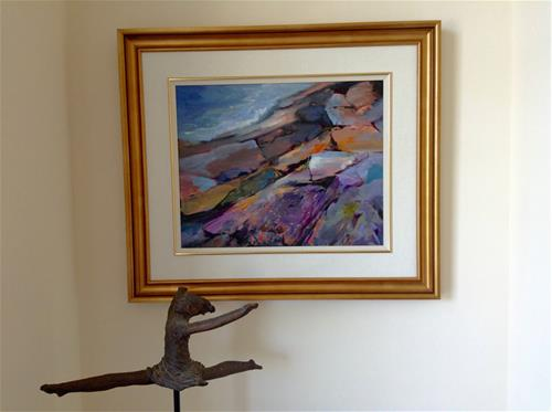 """The Precipice"" original fine art by Cathy Boyd"