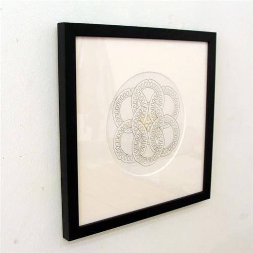 """""""Links Study VII"""" original fine art by Bonnie Fillenwarth"""