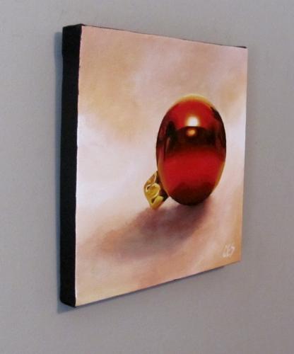 """""""Christmas Bauble"""" original fine art by ~ces~ Christine E. S. Code"""