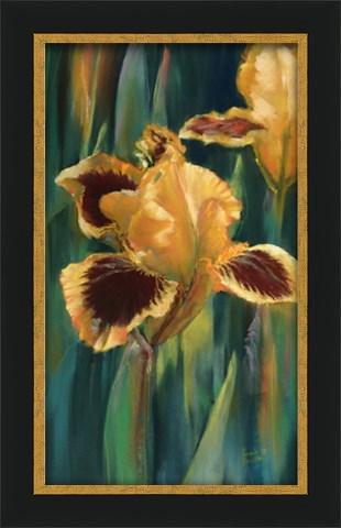 """""""Fleur de Lys"""" original fine art by Pamela Hamilton"""