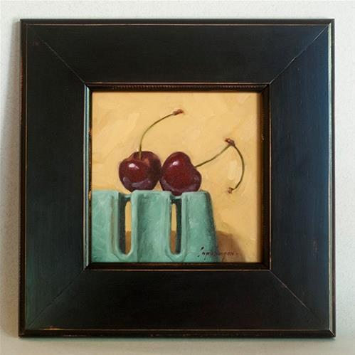 """Sweet Cherries"" original fine art by David Capalungan"