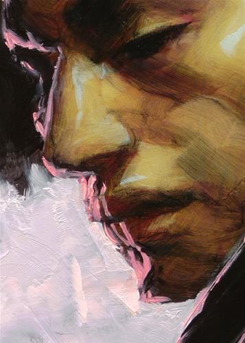 """Neon Ruin"" original fine art by John Larriva"