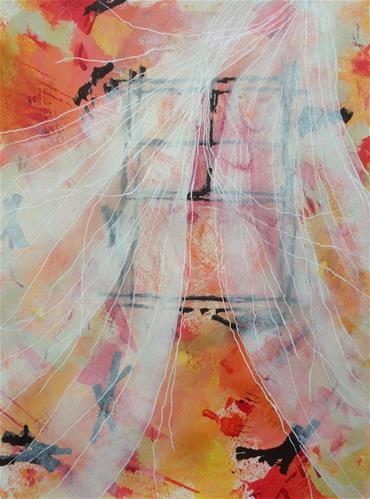"""Ghost Buster!"" original fine art by Dotty  Seiter"