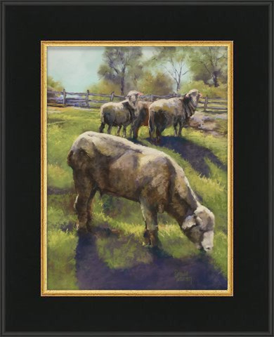"""Counting Sheep"" original fine art by Pamela Hamilton"