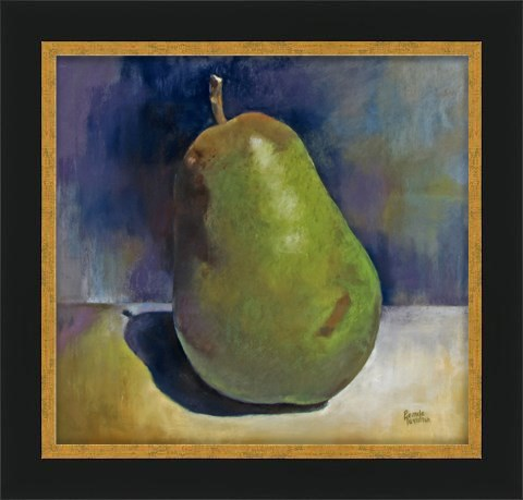 """Pear"" original fine art by Pamela Hamilton"