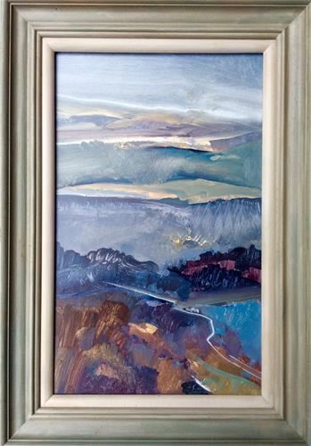 """Evening Comes"" original fine art by Anne Wood"