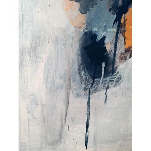 """Dusk to Dawn"" original fine art by Vy Ngo"
