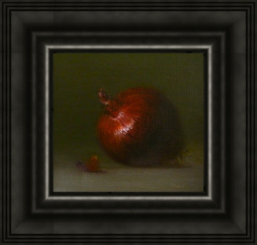 """Red Onion"" original fine art by MeeLi Lee"