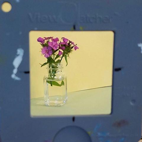 """Wildflowers"" original fine art by Merrill Weber"