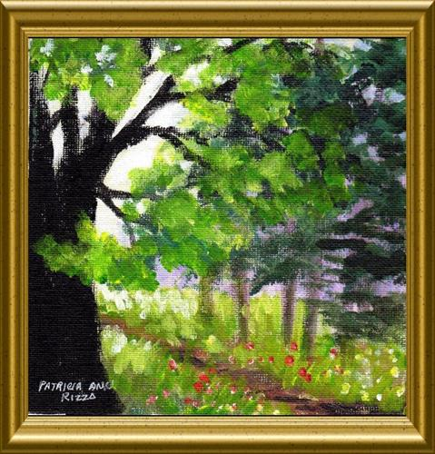 """A Day in the Forest"" original fine art by Patricia Ann Rizzo"