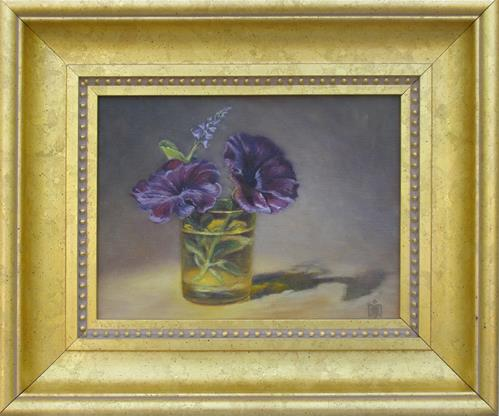 """Petunias"" original fine art by Melissa  Imossi"