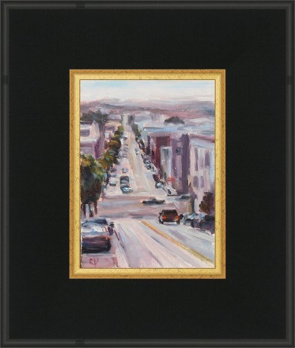 """Somewhere in San Fran"" original fine art by Carol DeMumbrum"