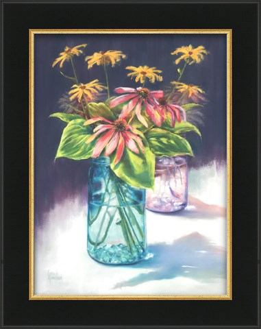 """Summer's End Bouquet"" original fine art by Pamela Hamilton"