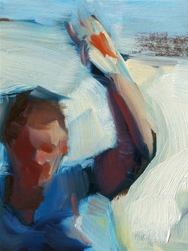 """Hoopla"" original fine art by John Larriva"