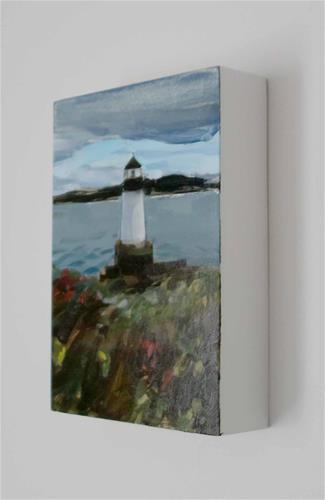 """Winter Island Lighthouse, Salem, MA (no.143)"" original fine art by Michael William"