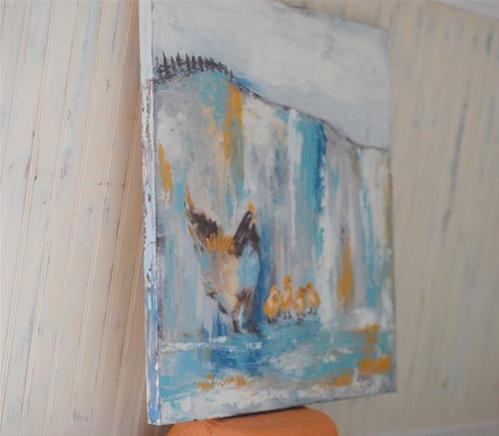 """A Watchful Eye"" original fine art by Kelly Berkey"