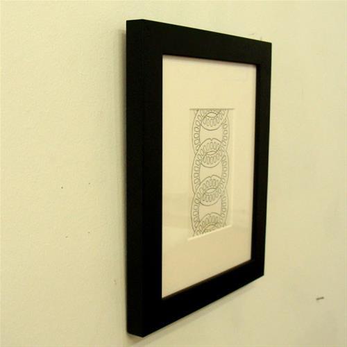 """Links Study I"" original fine art by Bonnie Fillenwarth"