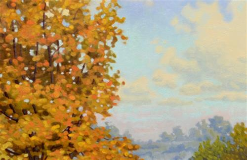 """September Valley Trail"" original fine art by Les Dorscheid"