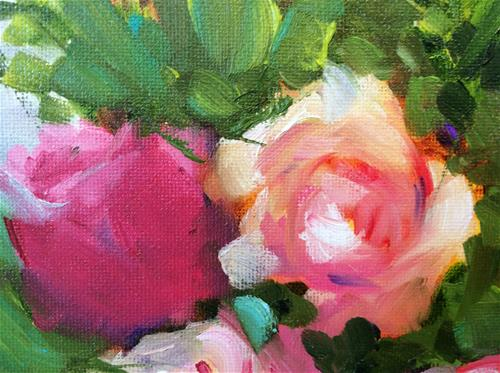 """Hatbox Framed"" original fine art by Molly Rohrscheib Hathaway"