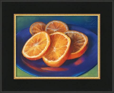 """Slices of Sunshine"" original fine art by Pamela Hamilton"