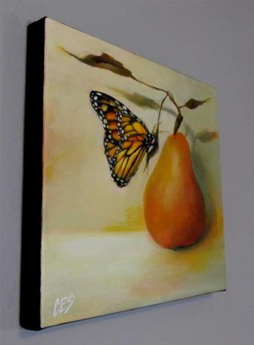 """A Pretty Pair"" original fine art by ~ces~ Christine E. S. Code"